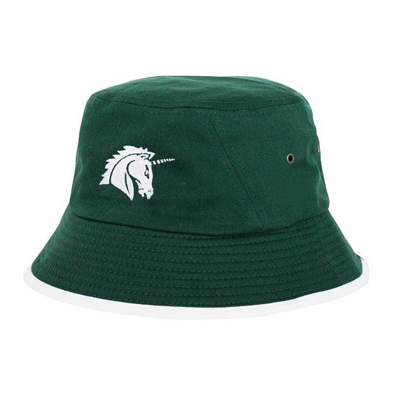 Unicorns Camp Bucket Hat Hut Grün - gruen