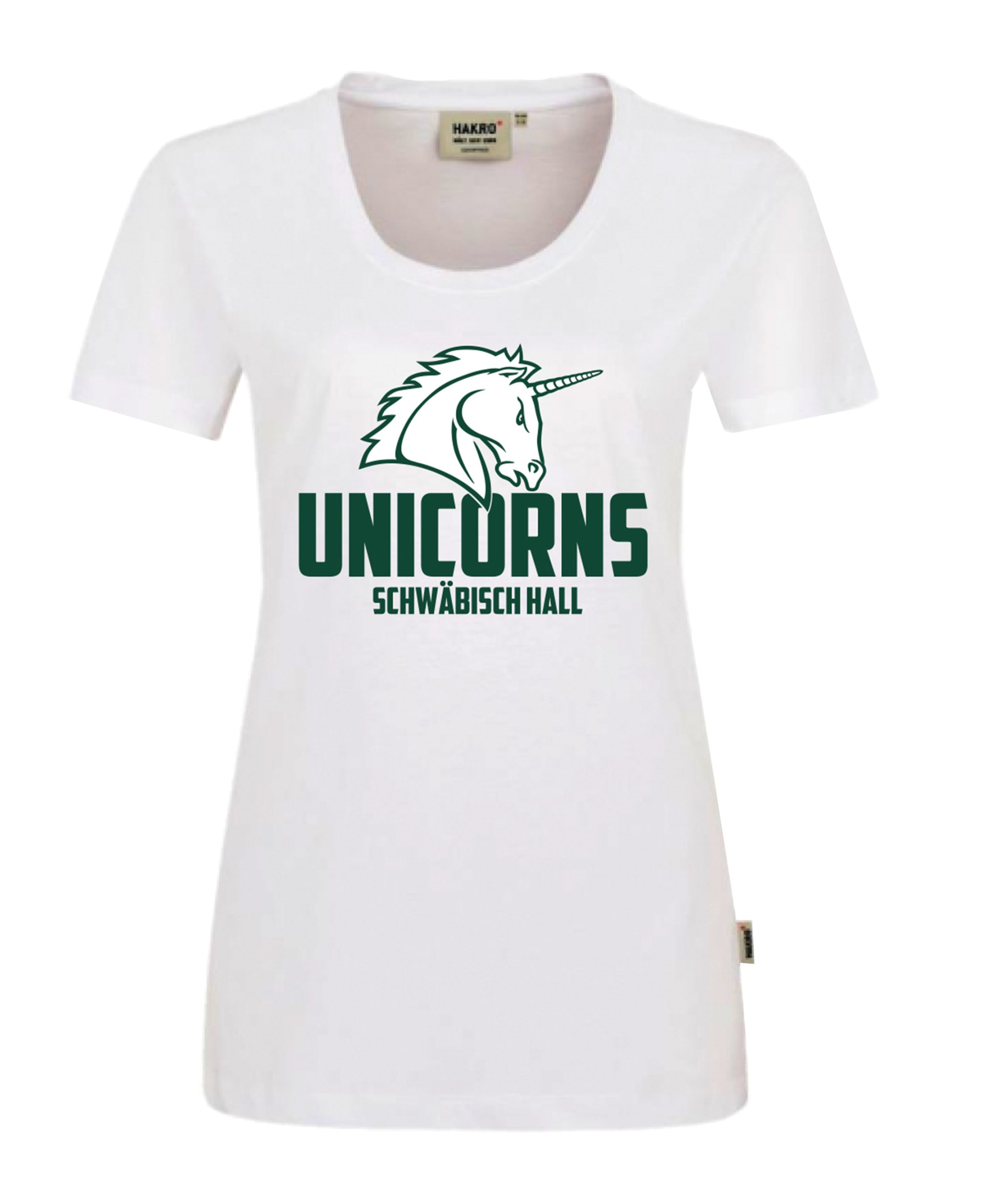 Unicorns Classic T-Shirt Damen Weiss - weiss