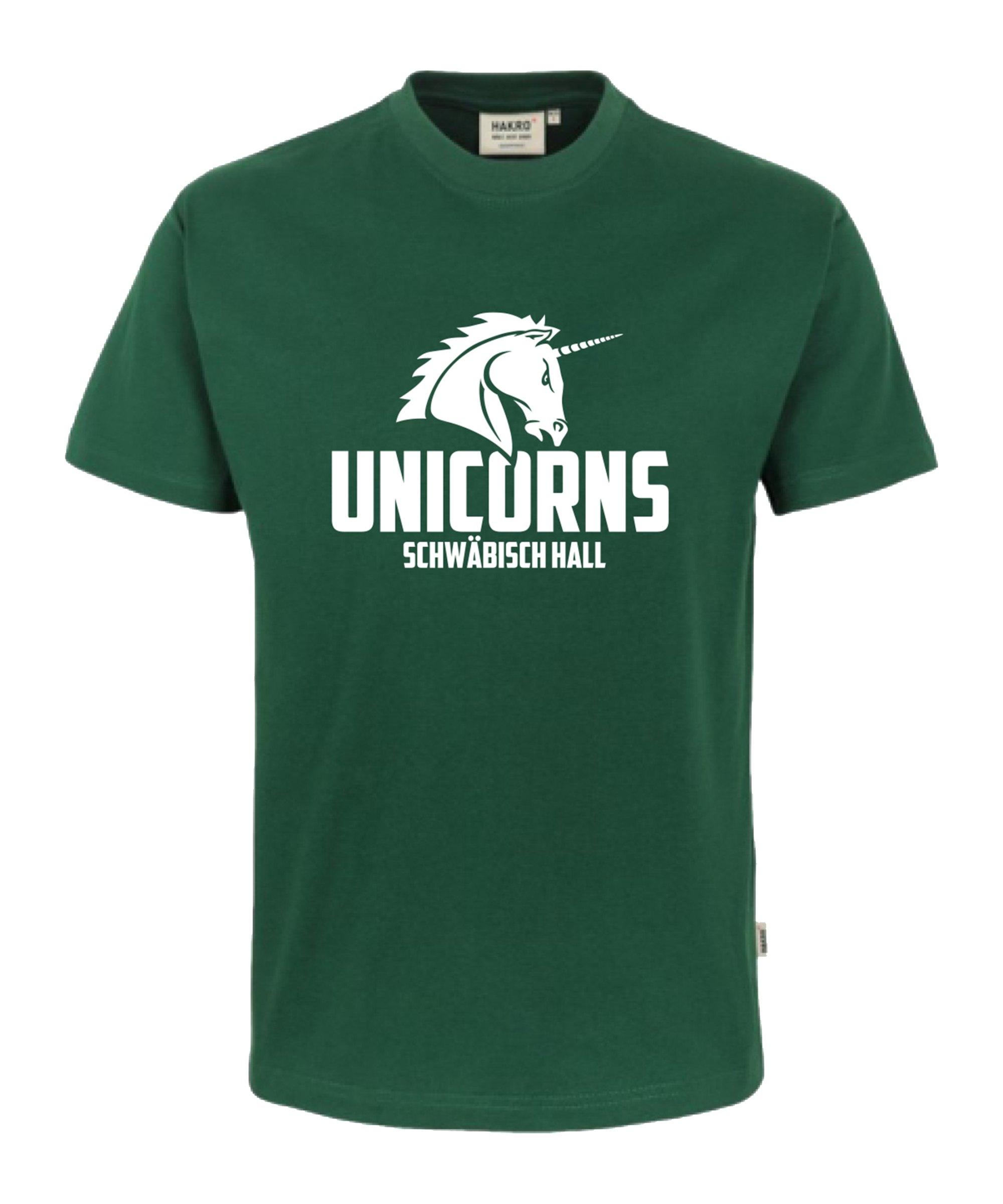 Unicorns Classic T-Shirt Tee Unicorn groß Grün - gruen
