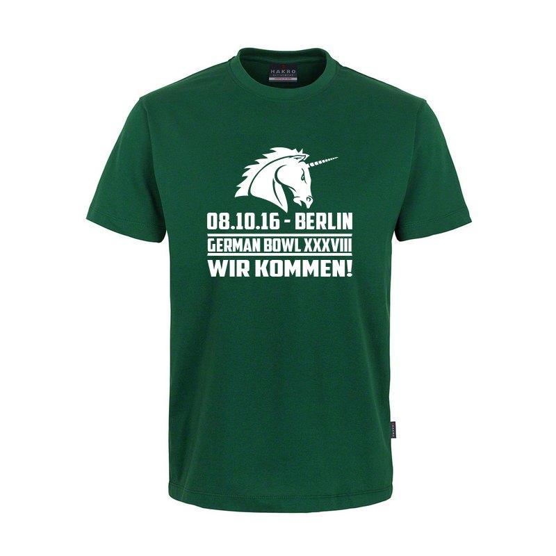 Unicorns T-Shirt Classic German Bowl Grün - gruen