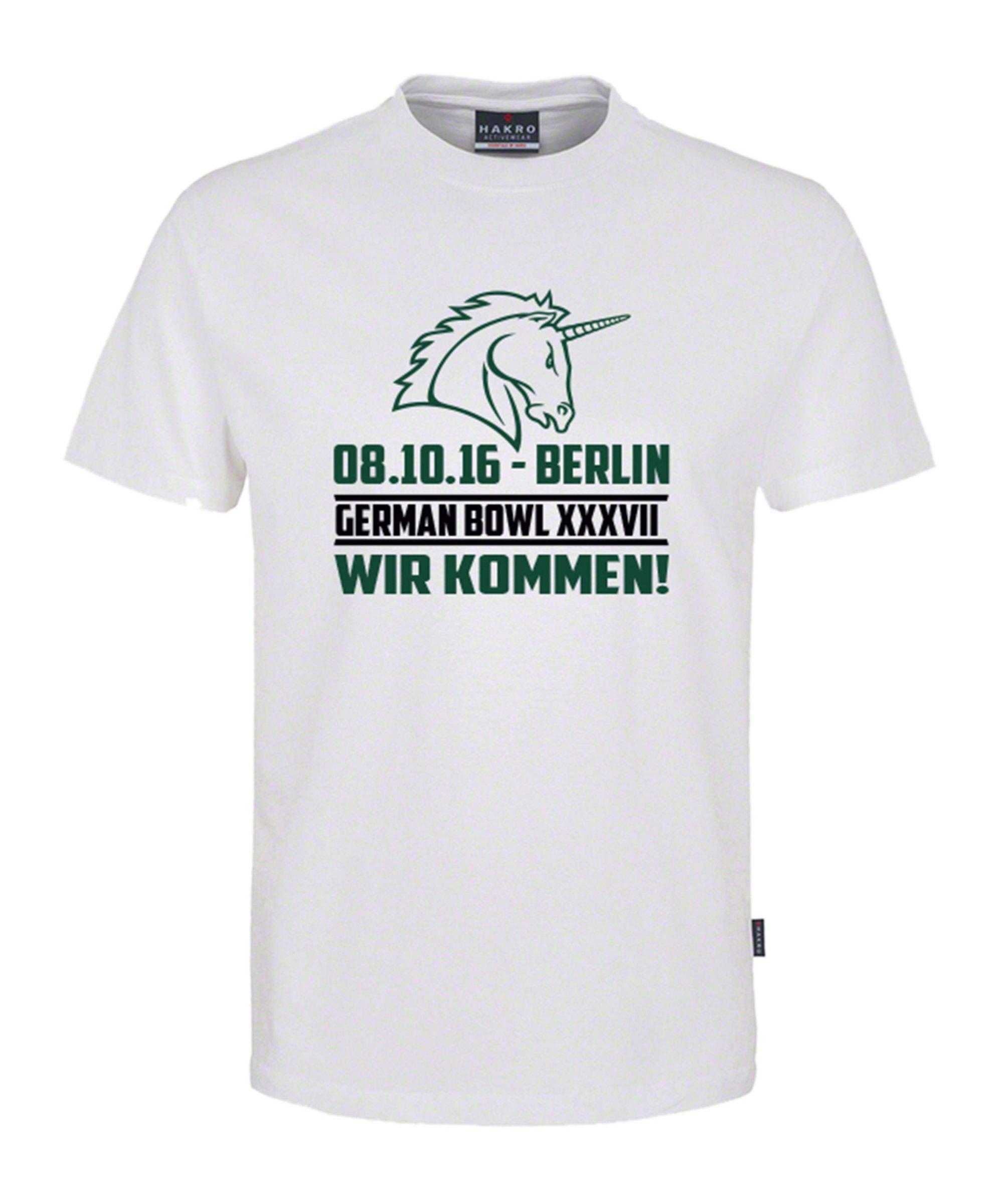 Unicorns T-Shirt Classic Kids German Bowl Weiss - weiss